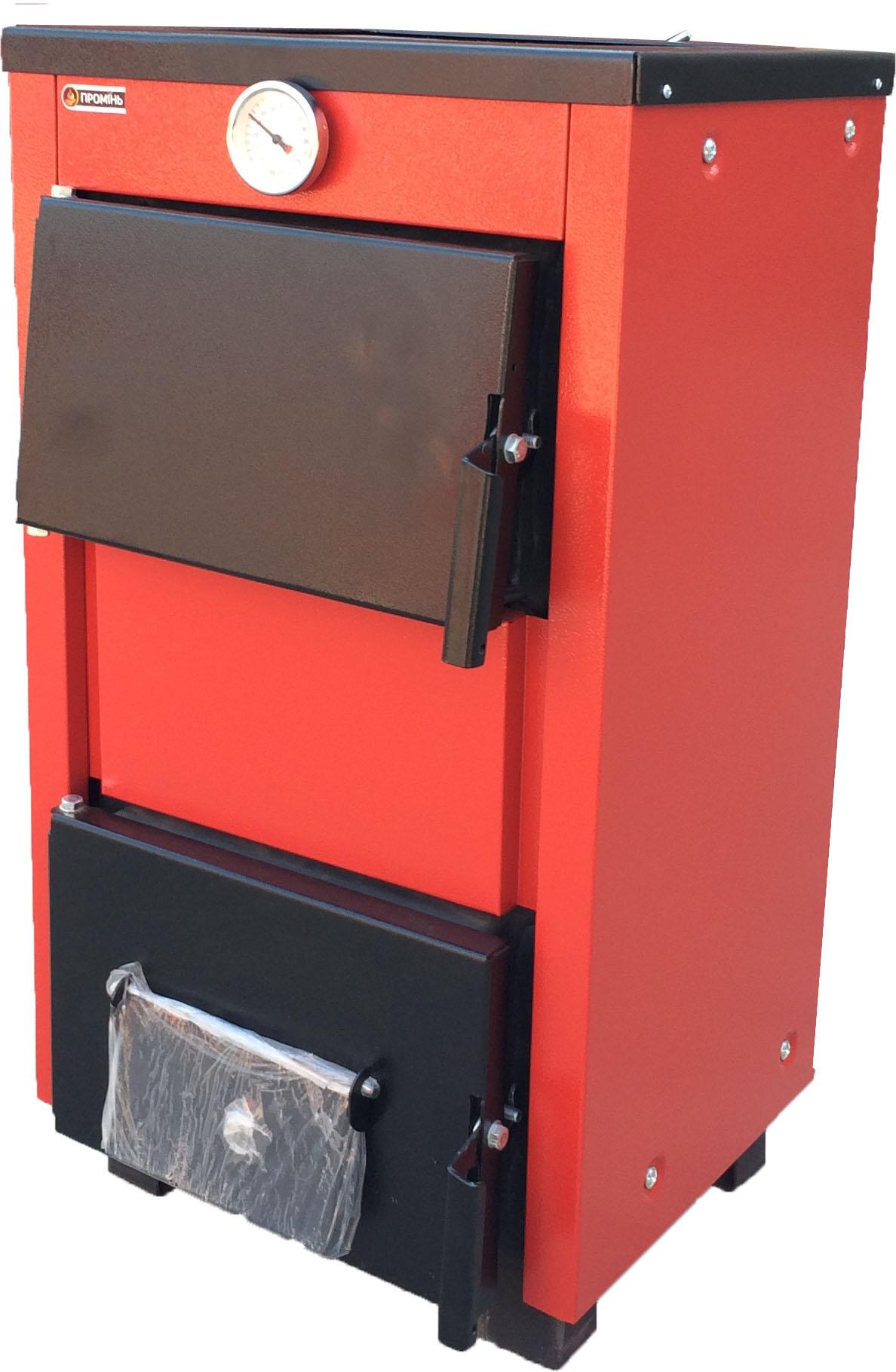 Промінь  ТТП-12кВт з чавунними плитою та колосниками